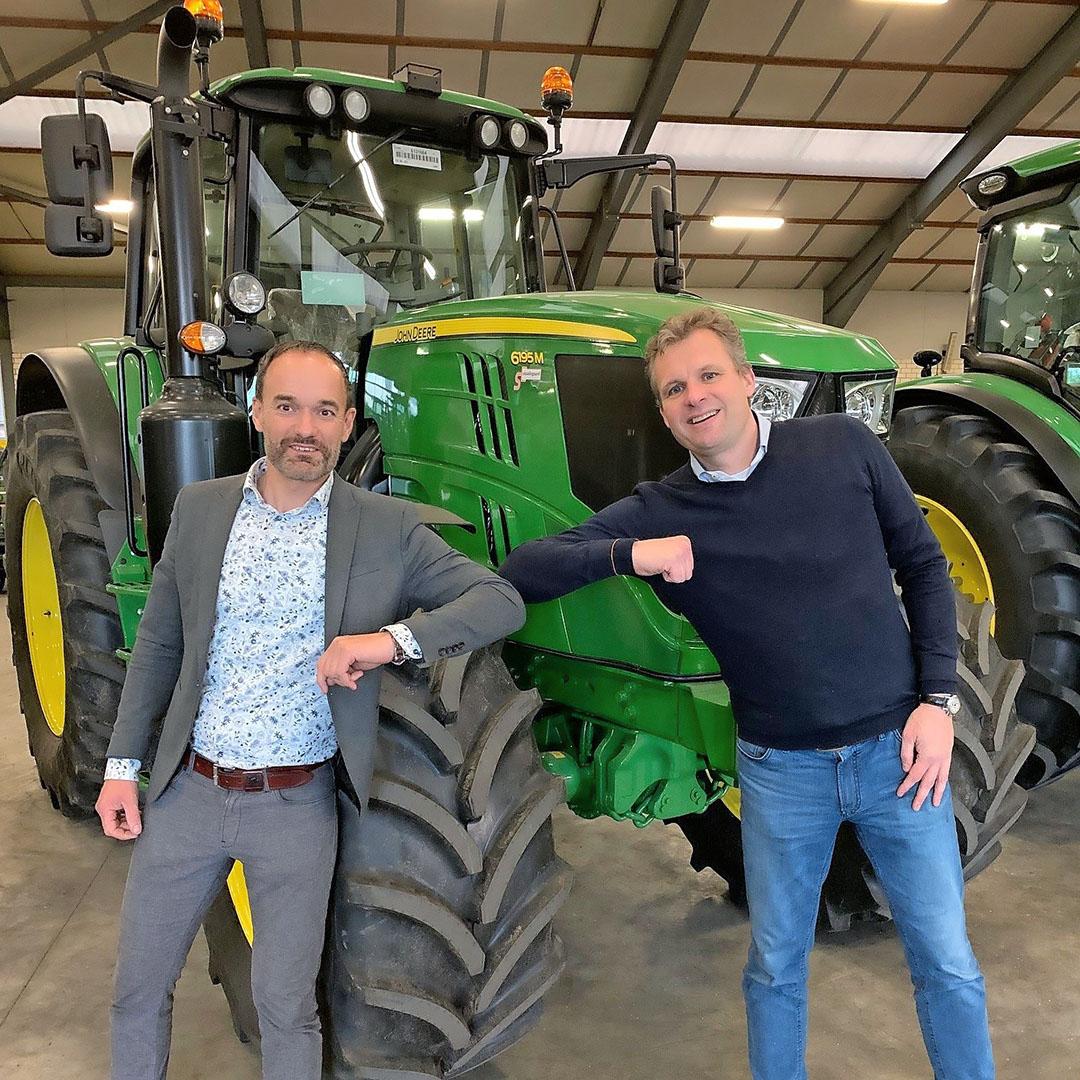 Simon Staadegaard (l.) en Lex Zandbergen van Kraakman Perfors. - Foto: Kraakman Staadegaard