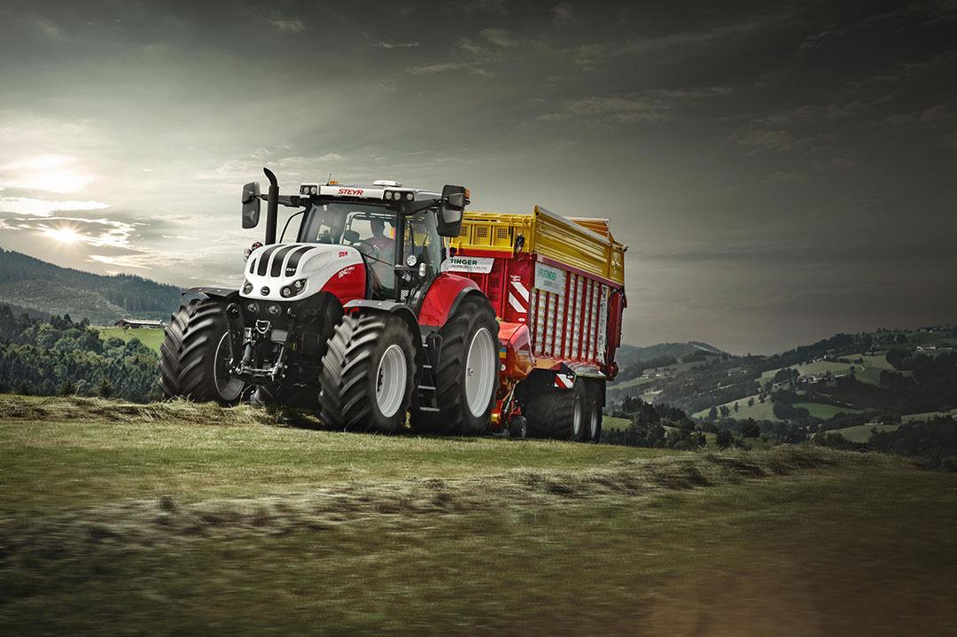 De Steyr Absolut is de Stage V nieuwkomer bij het rood-witte Oostenrijkse merk.
