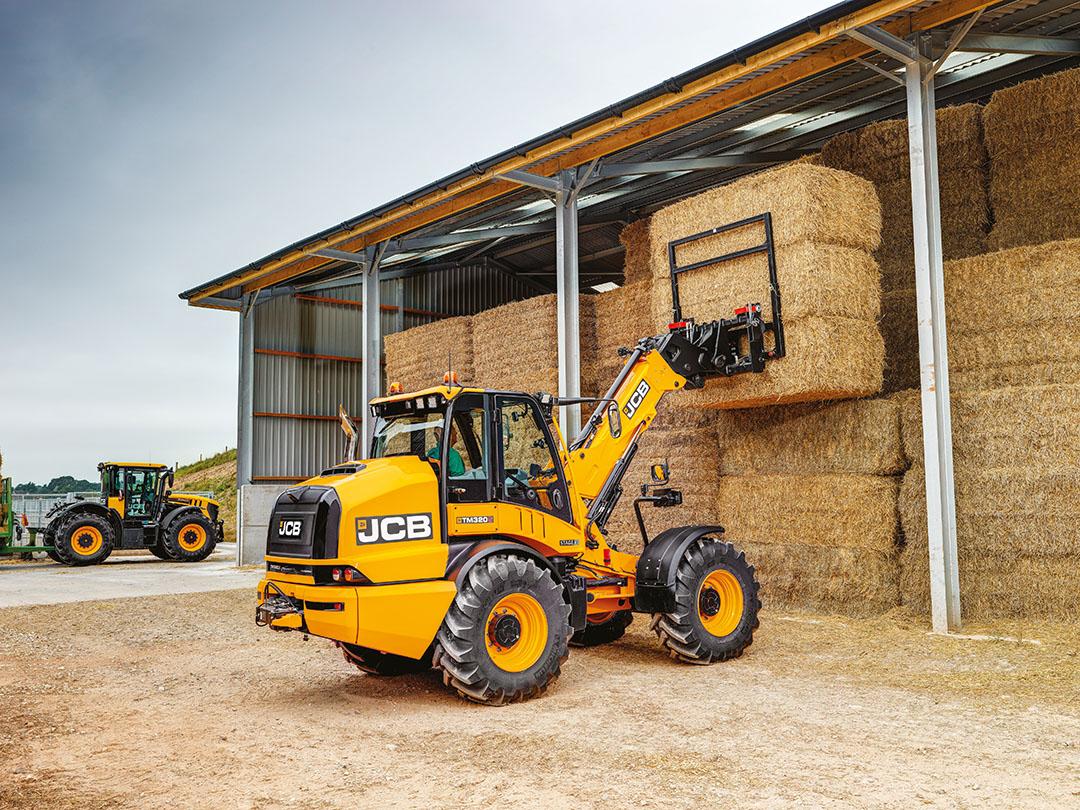 De TM320 en TM320S-modellen tillen maximaal 3,2 ton tot 5,20 meter hoogte (op foto). De TM420 en TM420S tillen 4,1 ton tot 5,45 meter hoogte.