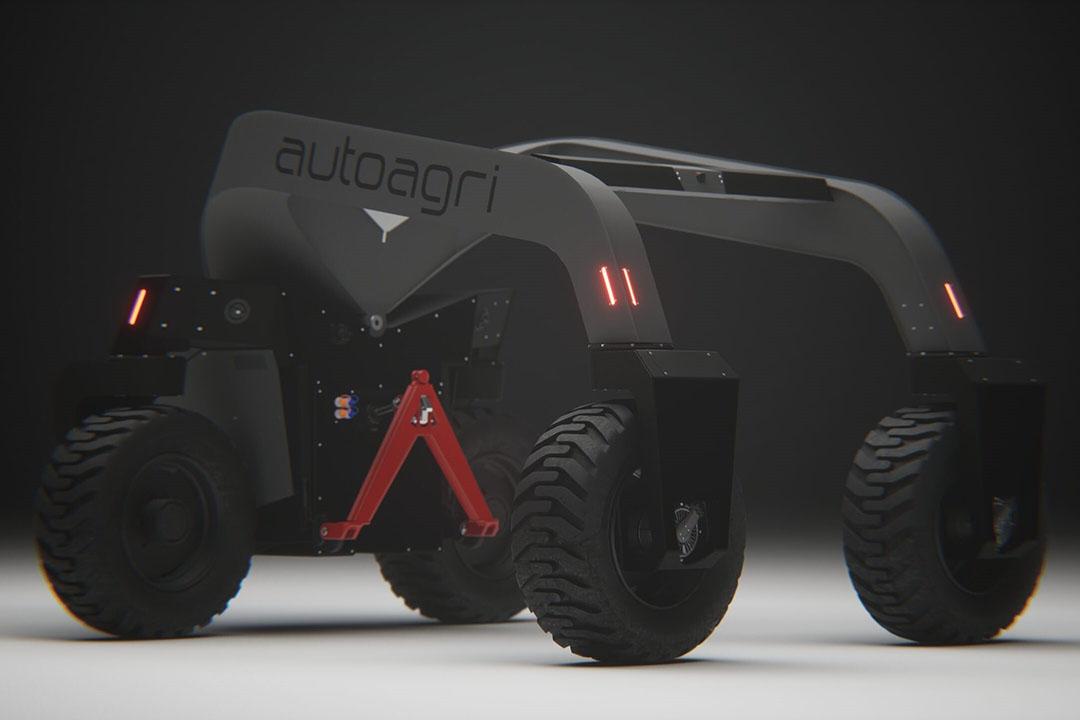 De veldrobot onderscheidt zich van anderen door een elektrische aandrijflijn en compatibiliteit met bestaande werktuigen.