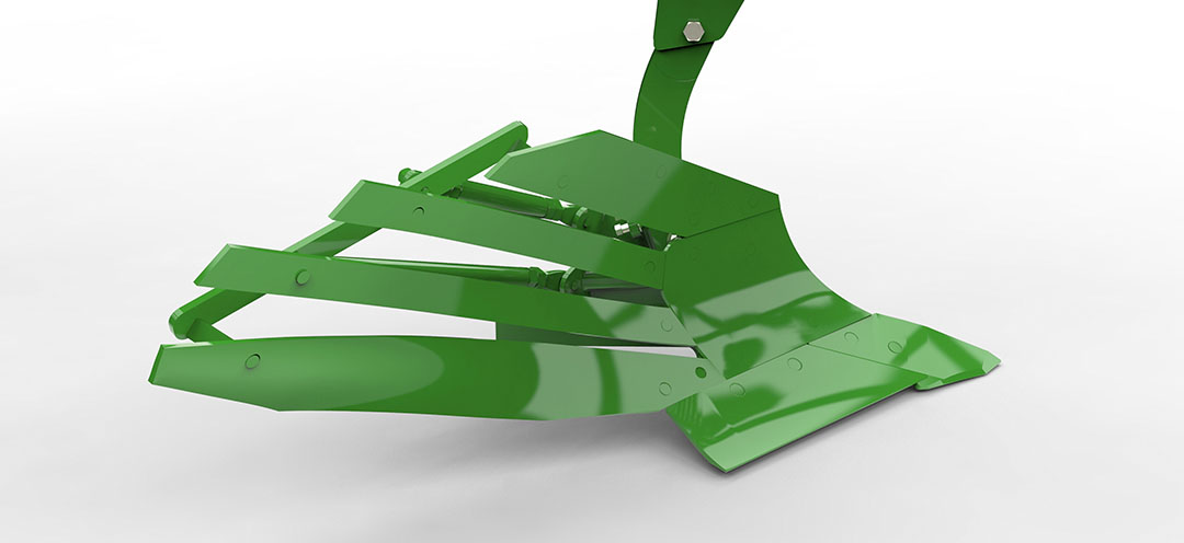 Bij slijtage is het niet nodig het hele rister te vervangen. Het deel voor het strokenrister volstaat.